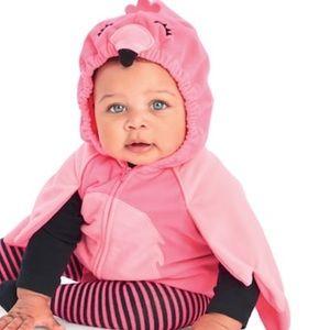 •baby girl• pink flamingo costume